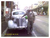 Gary after Virginia City parade